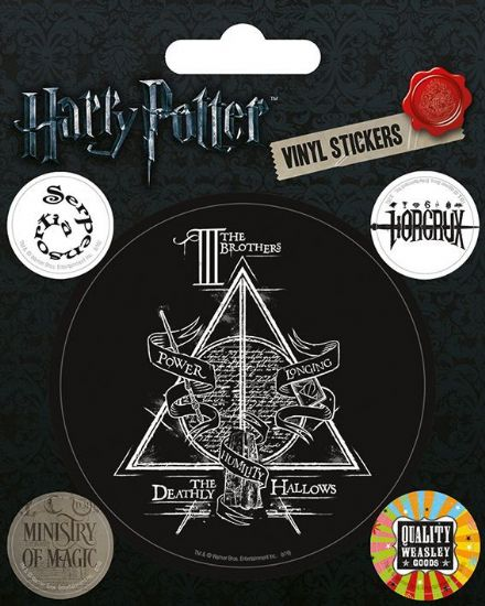 Harry Potter Symbols Vinyl Stickers